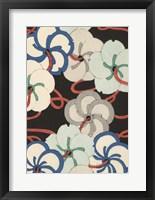 Framed Japanese Graphic Design IV