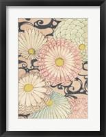 Framed Japanese Graphic Design V