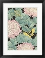 Framed Japanese Floral Design I