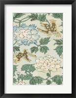 Framed Japanese Floral Design II