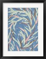 Framed Japanese Floral Design V