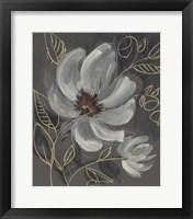 Floral Filigree I Framed Print