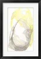 Framed Lemon & Grey Tandem I
