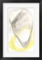 Framed Lemon & Grey Tandem II