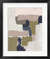Revised Color Block II Framed Print