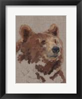 Big Bear II Framed Print