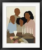Joyous Kwanzaa I Framed Print