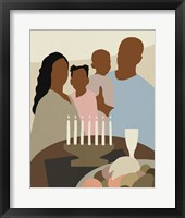 Joyous Kwanzaa II Framed Print