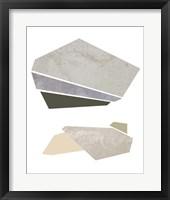 Slab Sections I Framed Print