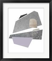 Slab Sections II Framed Print