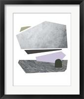 Slab Sections IV Framed Print