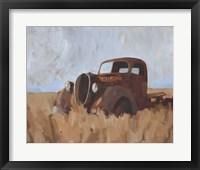Farm Truck II Framed Print