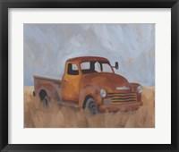 Farm Truck III Framed Print