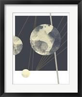 Planetary Weights II Framed Print