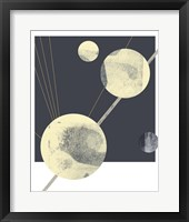Planetary Weights IV Framed Print