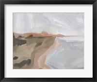 Autumn Coastline II Framed Print