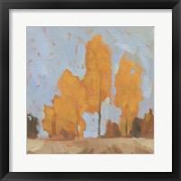 Golden Seasons II Framed Print