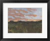 Sunset in Taos I Framed Print