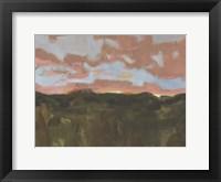 Sunset in Taos II Framed Print