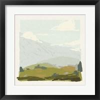 Alpine Ascent I Framed Print