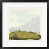 Alpine Ascent IV Framed Print