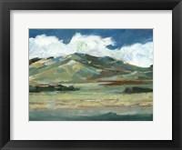 Western Sky II Framed Print
