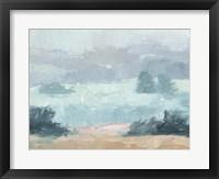 Pastel Valley II Framed Print