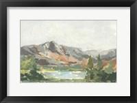 Rusty Mountains I Framed Print