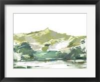 Across The Lake II Framed Print
