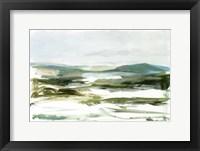 Marsh Sketch I Framed Print