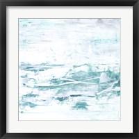 Caribbean Currents I Framed Print