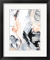 Blush Flame I Framed Print