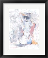 Pastel Study II Framed Print