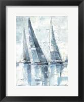 Regatta II Framed Print