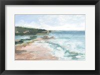 Coral Sand Beaches II Framed Print
