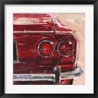 Sportscar Collection IV Framed Print