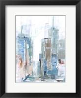 Brilliant City Study I Framed Print
