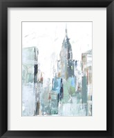 Brilliant City Study II Framed Print
