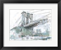 Brilliant City Study III Framed Print