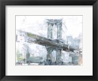 Brilliant City Study IV Framed Print