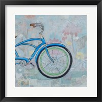 Bicycle Collage II Framed Print