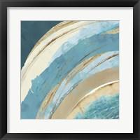 Making Blue Waves I Framed Print