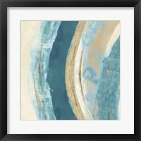 Making Blue Waves II Framed Print
