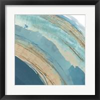 Making Blue Waves III Framed Print