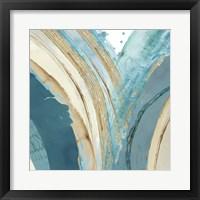 Making Blue Waves IV Framed Print