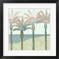 Framed Retro Palms II