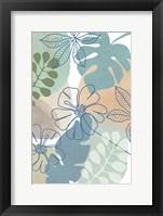 Tropical Flower Power II Framed Print