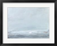 Soft Sea Mist I Framed Print