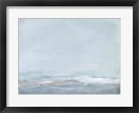 Soft Sea Mist II Framed Print