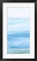Wavy I Framed Print